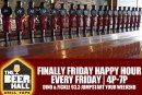 Finally Friday Happy Hour   Beer Hall Grill & Taps