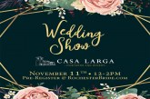 Wedding Show | NOV 11th