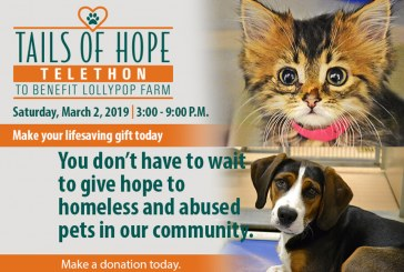 TAILS OF HOPE TELETHON 2019