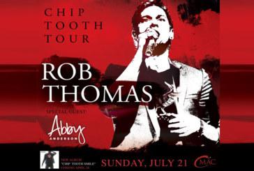 Rob Thomas | July 21st