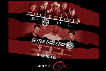 Collective Soul | Better Than Ezra | Tonic | July 2