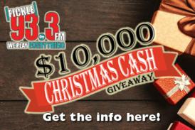 Win $10,000 Christmas Cash with Christmas DJ!