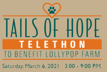 Join Dino for Tails of Hope Telethon 2021