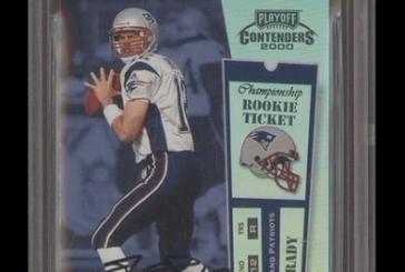 Tom Brady Rookie Card Sells for 1.3 Million