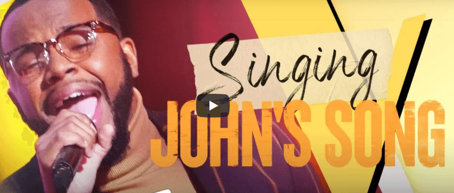 WATCH: See first ever contestant on The Voice to get John Legend to turn around for his own song.