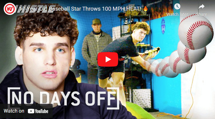 WATCH: 17-Year-Old Pitchers Throws at 100 MPH