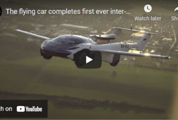 For the First Time, A Flying Car Completed a Trip Between Two Cities