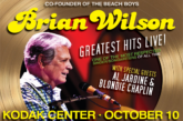 Brian Wilson at the Kodak Center