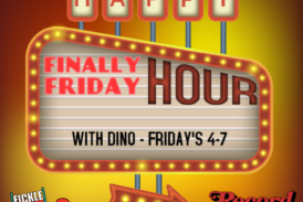 Finally Friday Happy Hour's with Dino at Record Archive!