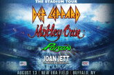Def Leppard | Motley Crue | Poison | Joan Jett & The Blackhearts | POSTPONED TO AUG 12 ,2021
