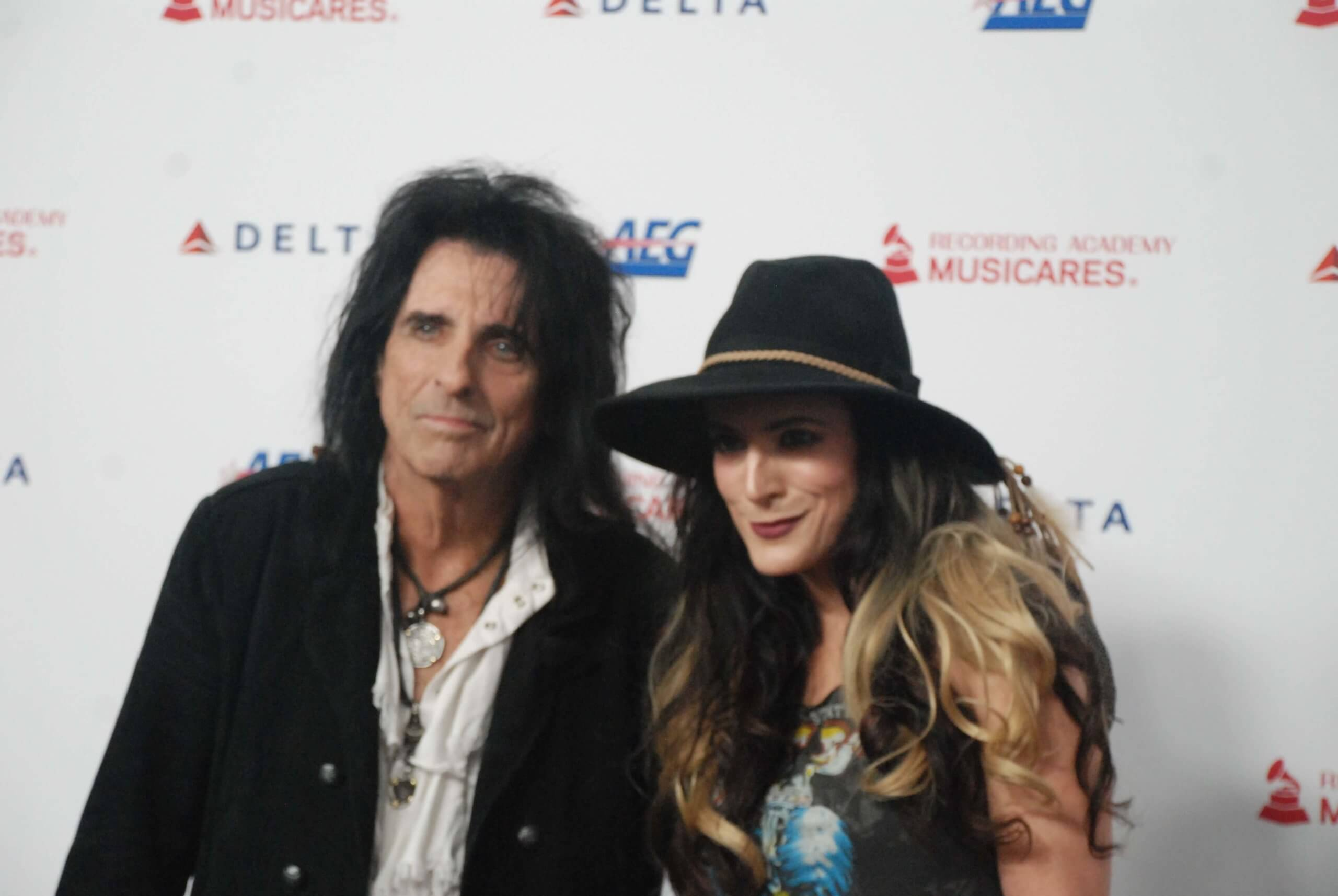 ALICE COOPER AND DAUGHTER CALICO