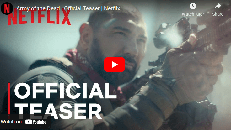 Trailer for New Zack Snyder Netflix film