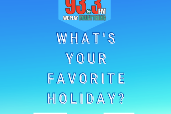 POLL: WHAT'S YOUR FAVORITE HOLIDAY?