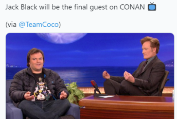 Jack Black Will be the Last Guest on Conan O'Brien's Late Night