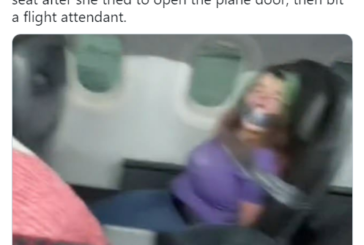 American Airlines Passenger Gets Duct Taped to Seat